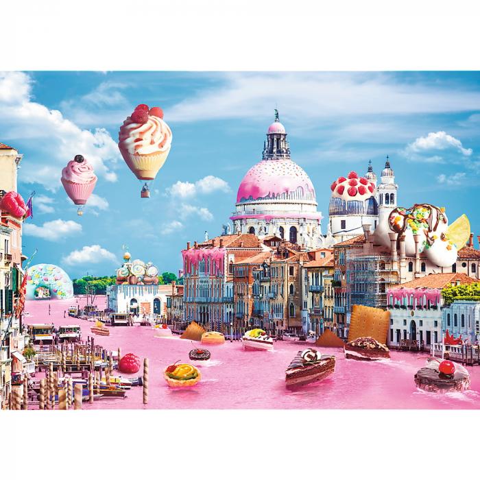 Puzzle Trefl 1000 Prajiturele la Venetia [1]