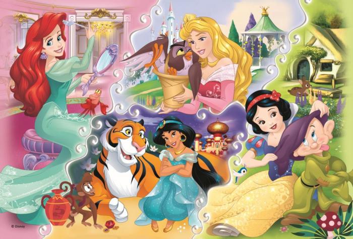 Puzzle Trefl 160 Printese impreuna cu prieteni [1]