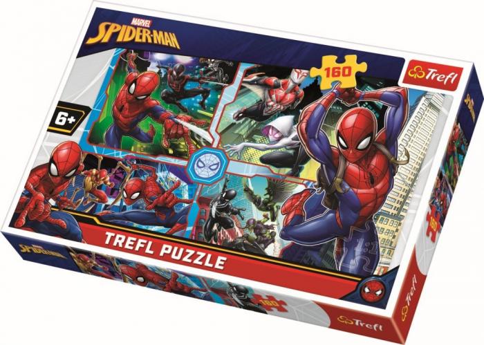 Puzzle Trefl 160 Spiderman salvatorul [0]