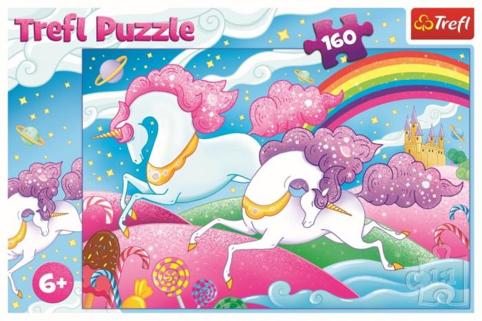 Puzzle Trefl 160 Unicorni [2]