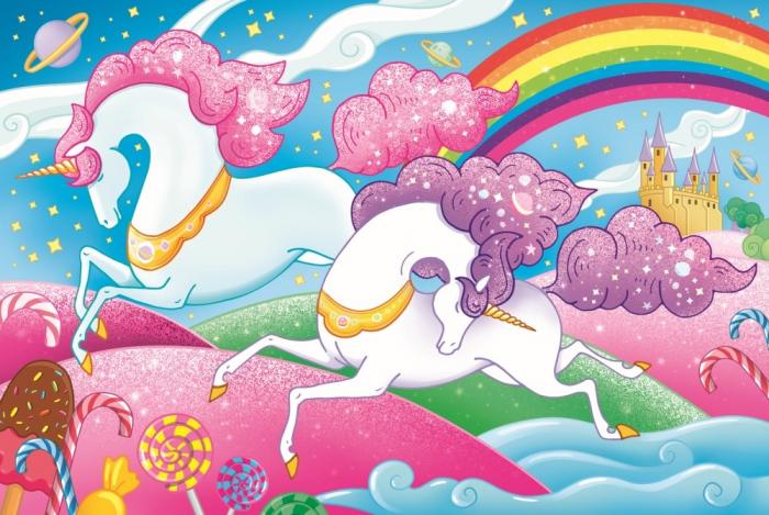 Puzzle Trefl 160 Unicorni [1]