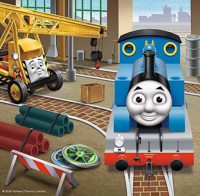 Puzzle Trefl 3in1 Thomas intra in actiune [1]