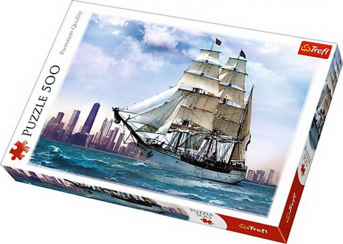 PUZZLE TREFL 500 NAVIGAND SPRE CHICAGO [0]