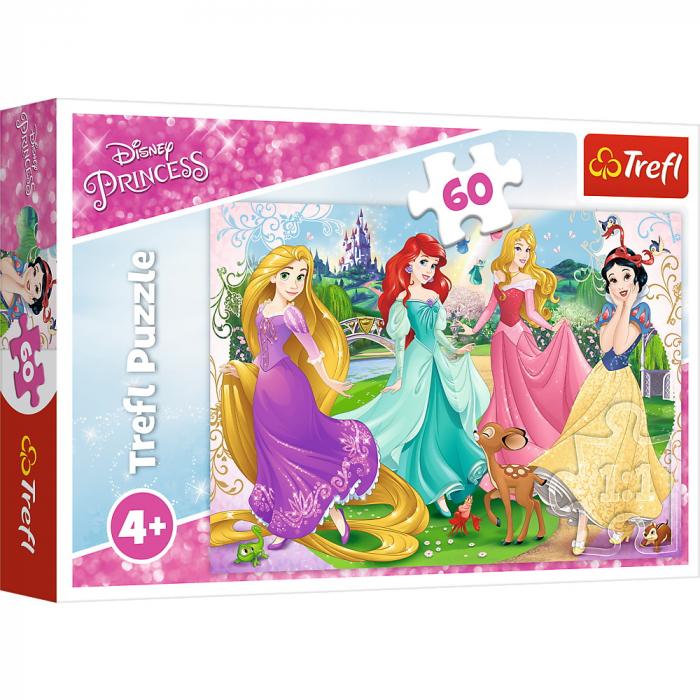 Puzzle Trefl 60 Frumoasele Printese Disney [0]