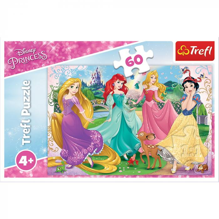 Puzzle Trefl 60 Frumoasele Printese Disney [2]