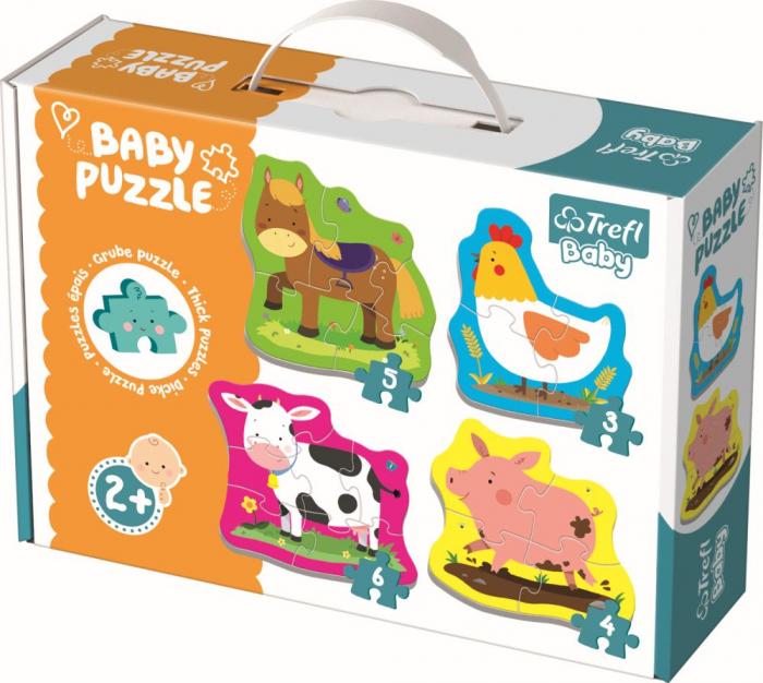 PUZZLE TREFL BABY CLASIC ANIMALE LA FERMA [0]