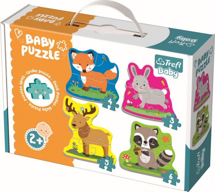 PUZZLE TREFL BABY CLASIC ANIMALELE PADURII [0]