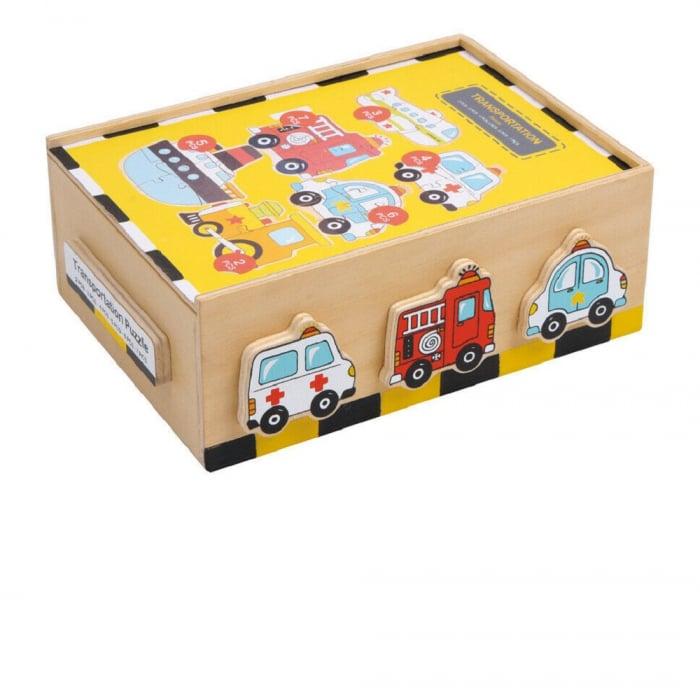 Puzzle vehicule - Legler [1]