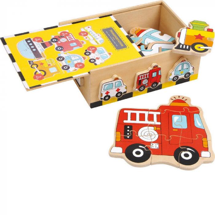 Puzzle vehicule - Legler [0]