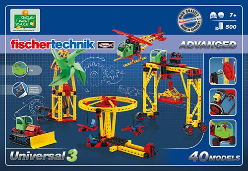 Set constructie ADVANCED Universal 3 - 40 modele [1]