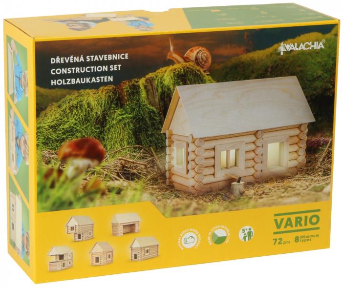 Set de construit Vario 72 piese - joc educativ Walachia [5]