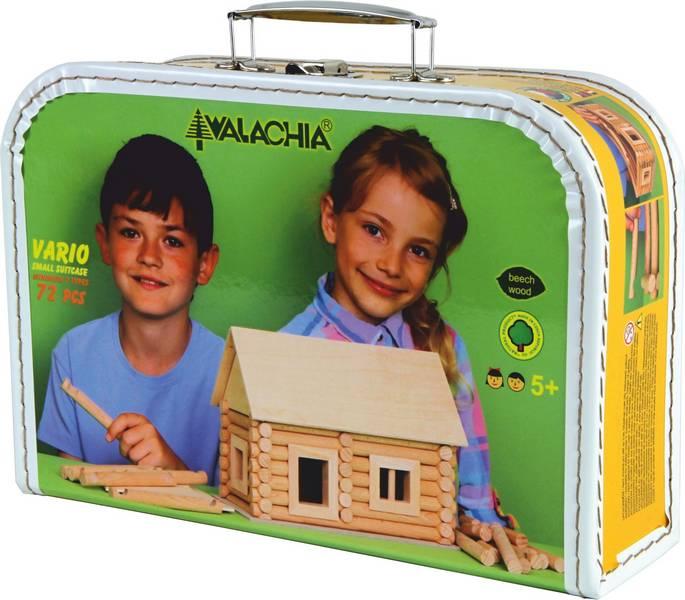 Set de construit Vario caseta 72 piese – joc educativ Walachia [0]