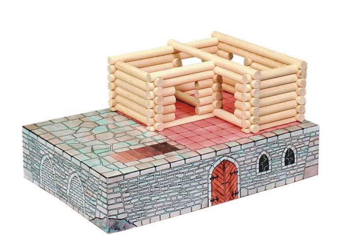 Set de construit Vario Fort – joc educativ Walachia [6]