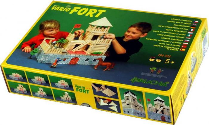 Set de construit Vario Fort – joc educativ Walachia [8]