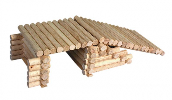 Set de construit Vario XL 184 piese – joc educativ Walachia [14]
