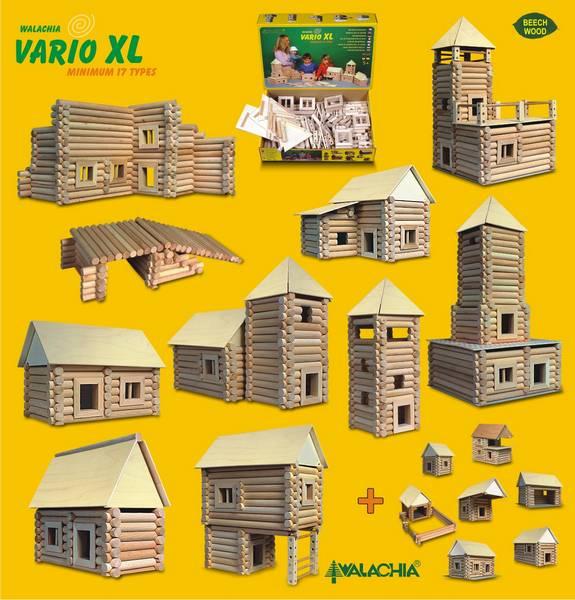 Set de construit Vario XL 184 piese – joc educativ Walachia [3]