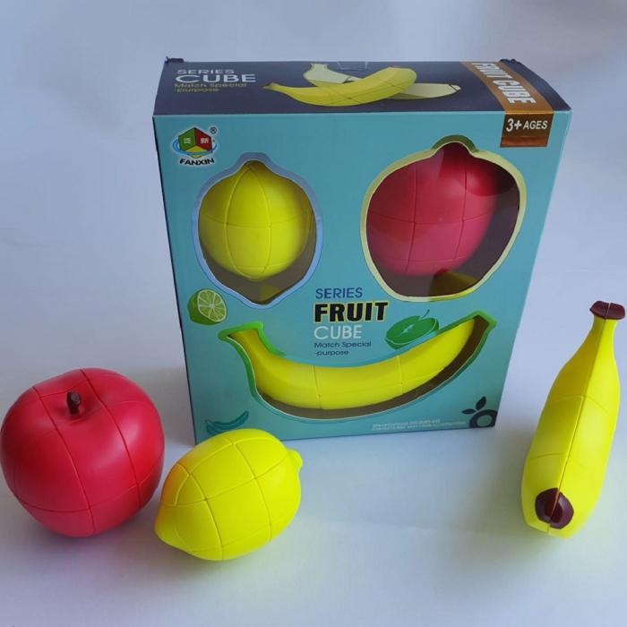 Cadou 5-7 ANI - Invatare Limba Engleza + Set Cuburi Rubik Fructe [5]