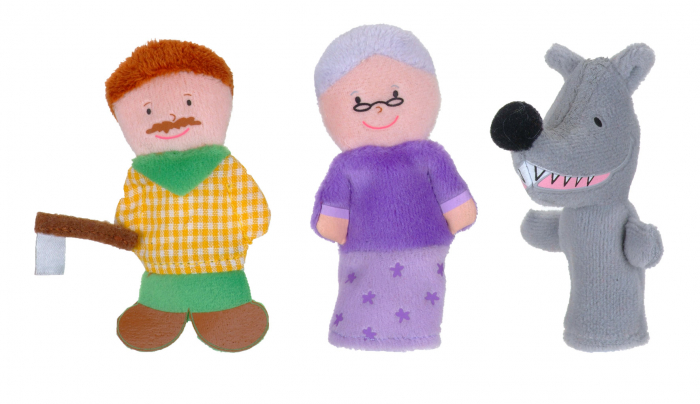 Set Papusa si marionete Scufita Rosie / Red Riding Hood - Fiesta Crafts [2]