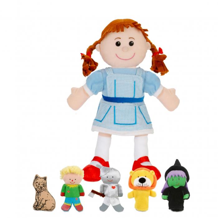Set papusa si marionete Vrajitorul din Oz / Wizzard of Oz - Fiesta Crafts [0]