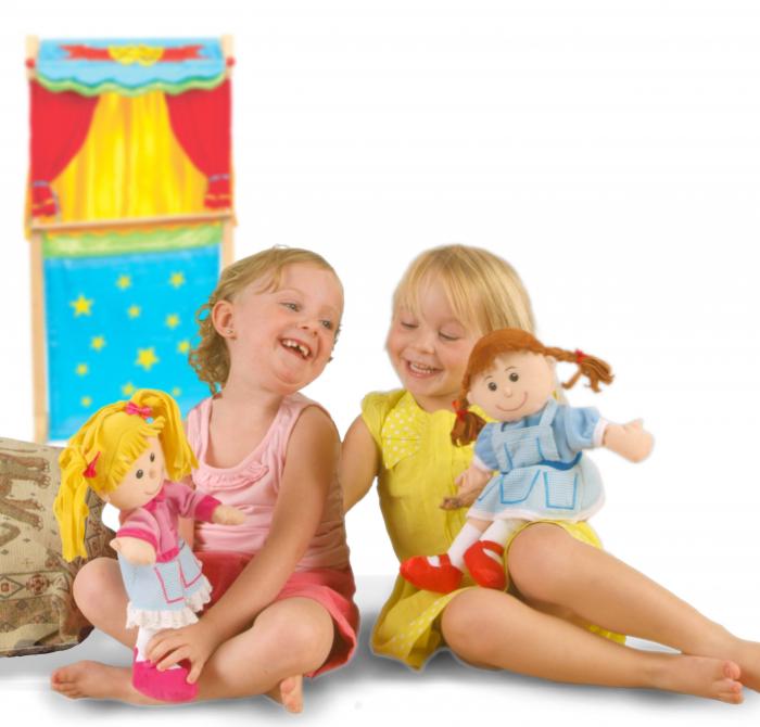 Set papusa si marionete Vrajitorul din Oz / Wizzard of Oz - Fiesta Crafts [1]