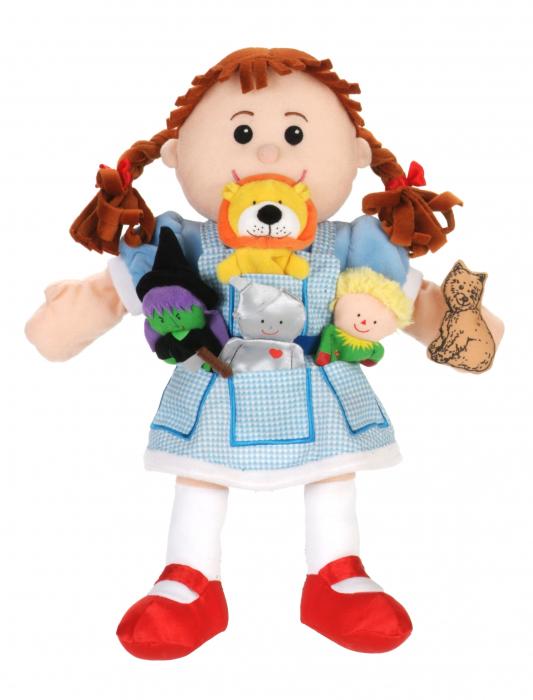 Set papusa si marionete Vrajitorul din Oz / Wizzard of Oz - Fiesta Crafts [2]