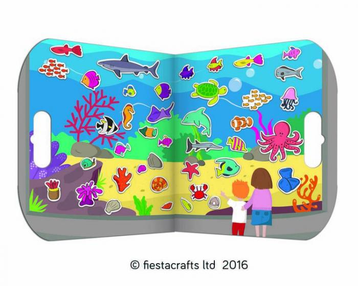 Stickere acvariu / Aquarium - Fiesta Crafts [0]