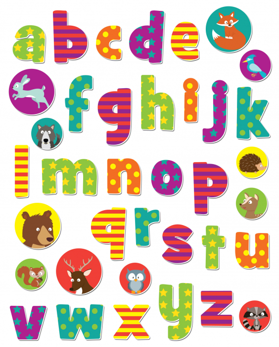 Stickere cu animale / Woodland Animals Alphabet [1]