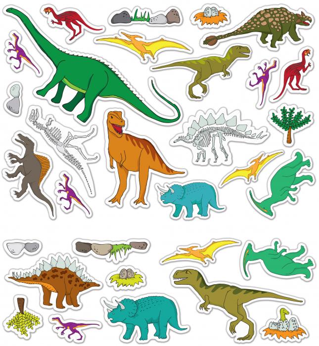 Stickere Dinozauri / Dinosaurs - Fiesta Crafts [3]