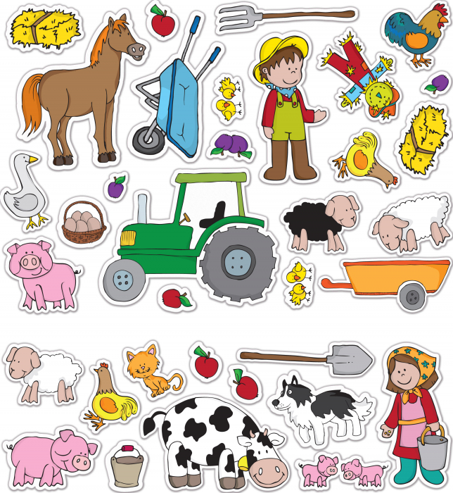 Stickere Ferma / Farm - Fiesta Crafts [2]