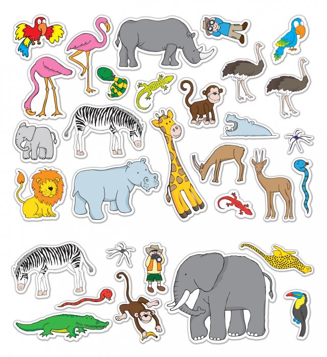 Stickere Zoo - Fiesta Crafts [4]