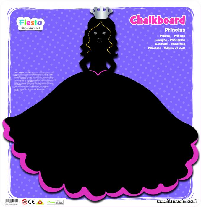 Tabla Printesa / Princess Chalkboard - Fiesta Crafts [1]