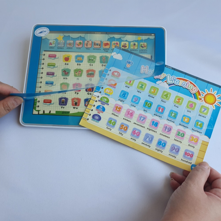 Tableta Multifunctionala 11 in 1 in Limba Engleza - Albastru [1]