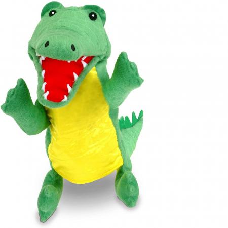Personaj teatrul de papusi - Crocodilul / Big crocodile puppet [0]