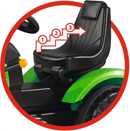 Big Tractor John XL cu pedale si incarcator [3]