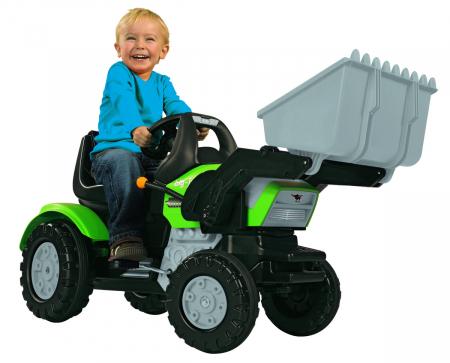 Big Tractor John XL cu pedale si incarcator [1]