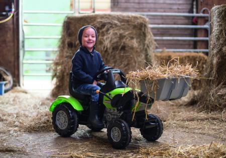 Big Tractor John XL cu pedale si incarcator [8]