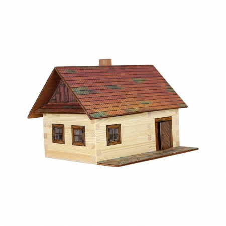 Cabana de lemn - joc educativ de construit Walachia [0]