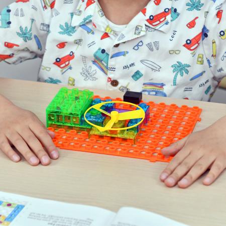 Cadou 8-14 ANI - Constructie Circuite Integrate + Cub Rubik Lamaie [5]