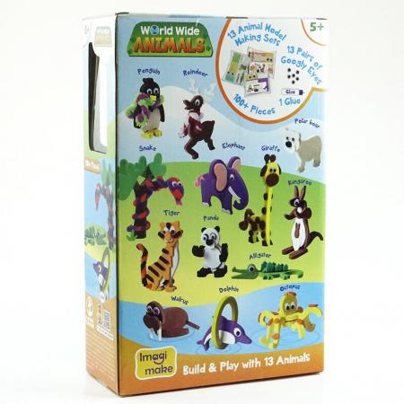 Cadou 8-14 ANI - Puzzle Harta lumii cu steaguri si capitale + Puzzle 3D Animale [5]