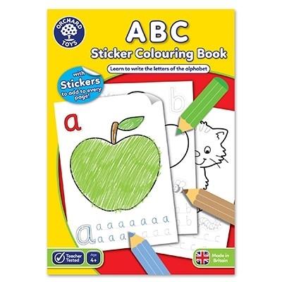 Carte de colorat cu activitati in limba engleza si abtibilduri ABC [0]