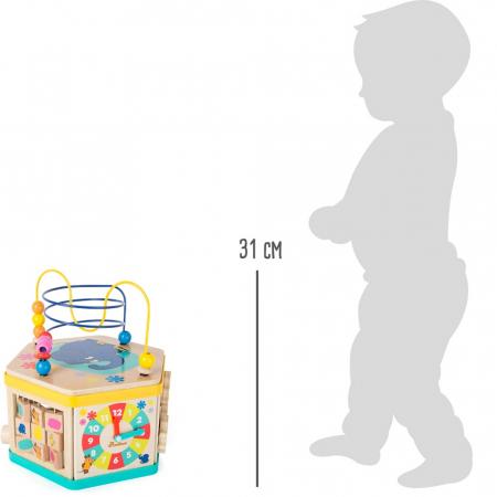 """Cub de activitati """"Soricelul si elefantul"""" - Legler [4]"""