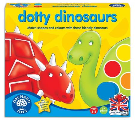 Dinozaurii cu pete / DOTTY DINOSAURS [0]