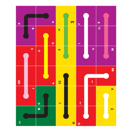 Joc educativ 30 Cubed The Happy Puzzle Company [3]