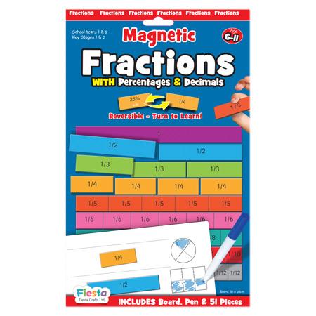Joc educativ Fractii / Fractions Fiesta Crafts [0]
