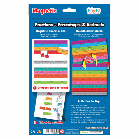 Joc educativ Fractii / Fractions Fiesta Crafts [1]