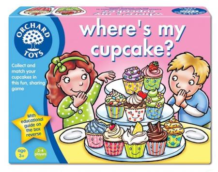 Joc educativ in limba engleza Briosa WHERE'S MY CUPCAKE? [0]