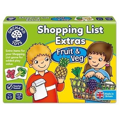 Joc educativ in limba engleza Lista de cumparaturi Fructe si legume [2]