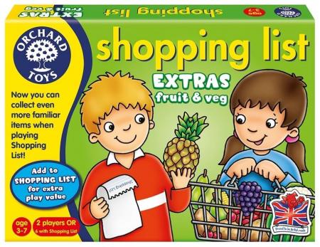 Joc educativ in limba engleza Lista de cumparaturi Fructe si legume [0]