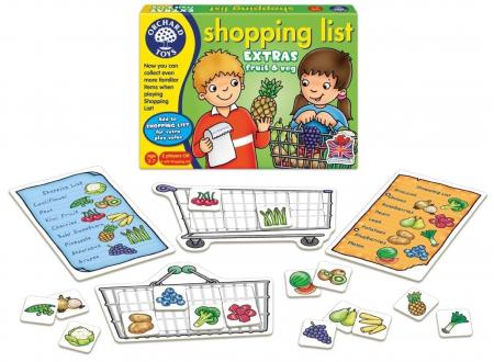 Joc educativ in limba engleza Lista de cumparaturi Fructe si legume [1]