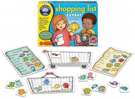 Joc educativ in limba engleza Lista de cumparaturi Haine [1]